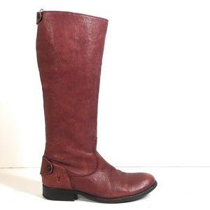 Frye  Melissa Button Women Back Zip Boots 8.5 B